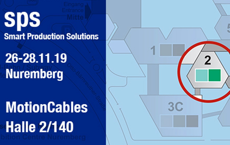 SPS 2019 Nurnberg - Innovations continues for MotionCables