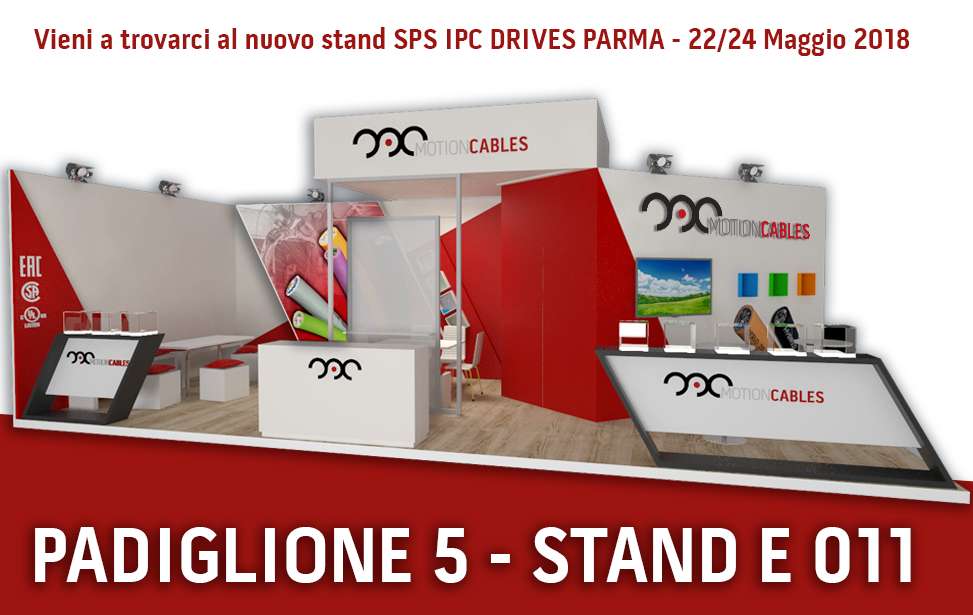 SPS IPC DRIVES PARMA 2018: the new stand!